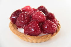 Raspberry tartlet Stock Images