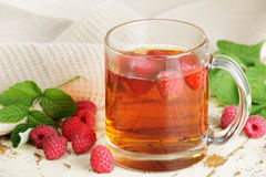 Raspberry tea Stock Images