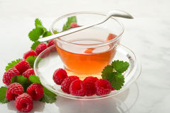 Raspberry tea Royalty Free Stock Photos