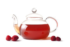 Raspberry Tea Royalty Free Stock Images