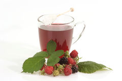 Raspberry Tea Royalty Free Stock Photography