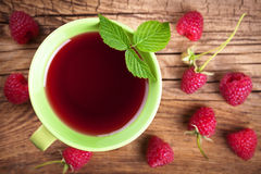 Raspberry Tea Stock Image