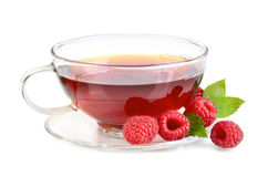 Raspberry tea Stock Photography