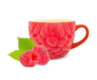 Raspberry tea Stock Photography