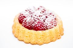 Raspberry Torte stock photography
