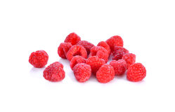 Raspberry  on white background. Raspberry  on a white background Royalty Free Stock Photo