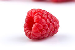 Raspberry  on white background. Fresh raspberry  on a white background Stock Images