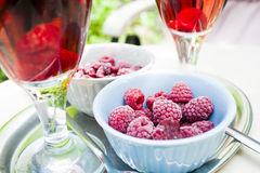 Raspberry Wine Royalty Free Stock Photo