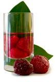Raspbery liquor Royalty Free Stock Images