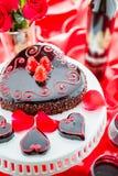 Raspbeverly Flourless Cake Royalty Free Stock Images