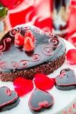 Raspbeverly Flourless Cake Stock Photo
