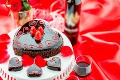 Raspbeverly Flourless Cake Stock Photos