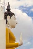 Rassa atta Phra: άγαλμα του Βούδα λεπτομέρειας σε Wat Yai Phitsanulok, Τ Στοκ Εικόνες