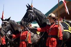 Rassegna musicale di giro di RCMP Fotografia Stock