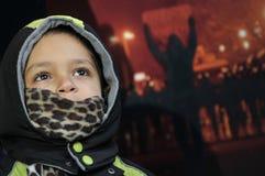 Rassemblement égyptien. Photos stock