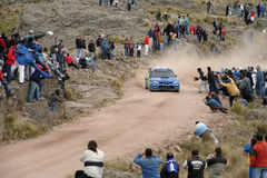 Rassemblement Córdoba Argentine de WRC Image libre de droits