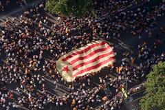 Rassemblement catalan de l'indépendance Photographie stock