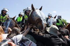 Rassemblement d'Australie de récupération - Melton Images libres de droits