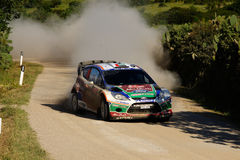 Rassemblement d'Italia Sardegna - AL QASSIMI de WRC 2011 Image stock