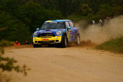 Rassemblement d'Italia Sardegna - FLODIN de WRC 2011 Photos stock