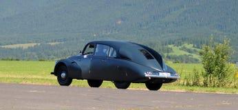 Rassemblement d'Oldtimer - Tatra 87, 1940 Image libre de droits