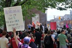 Rassemblement d'Ottawa pour des libertés civiles Photos stock