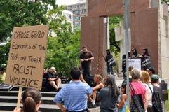 Rassemblement d'Ottawa pour des libertés civiles Photo libre de droits