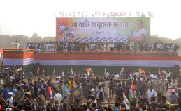 Rassemblement de brigade de TMC Images stock
