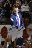 Rassemblement de campagne de Donald Trump de candidat républicain à la présidentielle à l'arène et au casino du sud de point à La Photo libre de droits