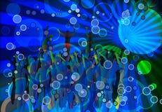Rassemblement de club Image libre de droits