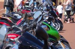 Rassemblement de cyclistes Images stock