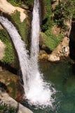 Rassemblement de deux cascades Photo libre de droits