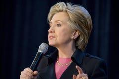 Rassemblement de Hillary Clinton Images libres de droits