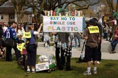 Rassemblement de jour de terre de Vancouver,   Photos stock