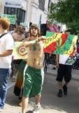Rassemblement de légalisation de marijuana Photos libres de droits
