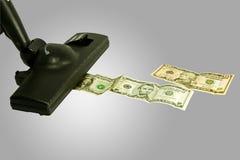 Rassemblement de l'argent photographie stock libre de droits