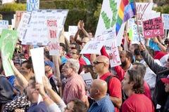 Rassemblement de Los Angeles de projet de SIDA Photos stock