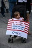 Rassemblement de mayday Image libre de droits