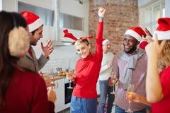 Rassemblement de Noël Photo stock