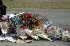 Rassemblement de paix pour Michael Brown Image stock
