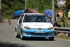 Rassemblement de Peugeot 106 Photos libres de droits