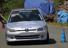 Rassemblement de Peugeot 106 Photographie stock libre de droits