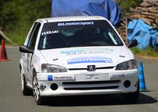 Rassemblement de Peugeot 106 Images libres de droits
