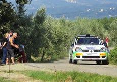 Rassemblement de Renault Clio Rs Photographie stock libre de droits