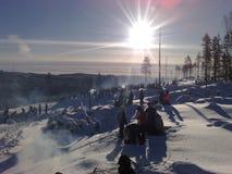 Rassemblement de Suédois Photos stock