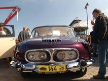 Rassemblement de vieilles voitures Photographie stock libre de droits