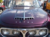 Rassemblement de vieilles voitures Image libre de droits