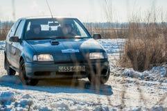 Rassemblement de voitures Photo stock