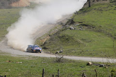 Rassemblement de Wrc de dinde Photos stock