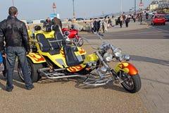 Rassemblement fait sur commande de vélo de baie de Herne Photo libre de droits